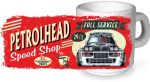 Koolart PERTOLHEAD SPEED SHOP Design For Lancia Delta Integrale HF Rally Ceramic Tea Or Coffee Mug